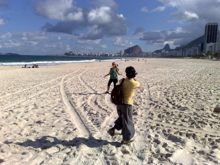 Un weekend reposant à Rio de Janeiro avec Milena et Paulihno