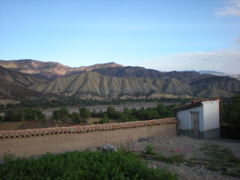 View of the mountains from the convent