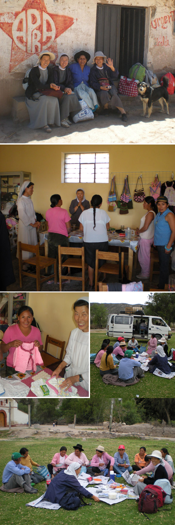 깐가리 부녀회 + 아야꾸쵸 교구 선교 200주년 기념미사 및 소풍.. 깐가리 주민분들은 깍두기인 나를 친절히 반겨주셨다