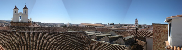 "I proudly present a panorama stitch work by my new ""bolivian"" camera"