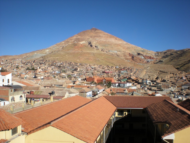 The highest city of the world, Potosi, Bolivia