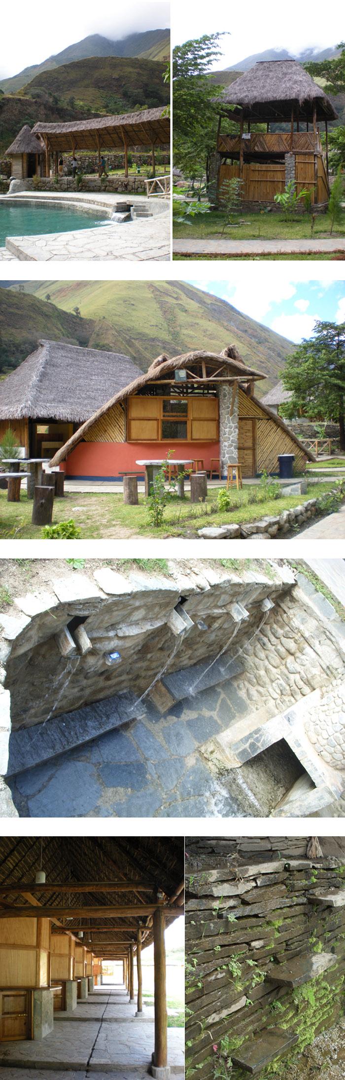 Hot spring center