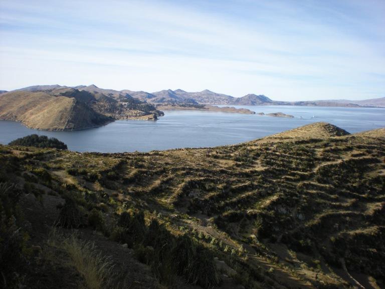 Isla del Sol, island of the sun, wind and silence
