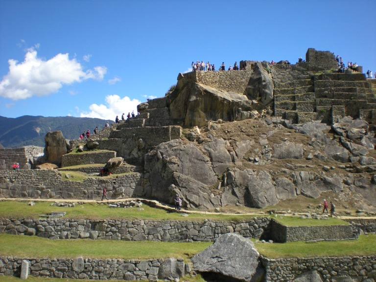 Machu Pichhu means the old peak in Quechua (an indigeous language)