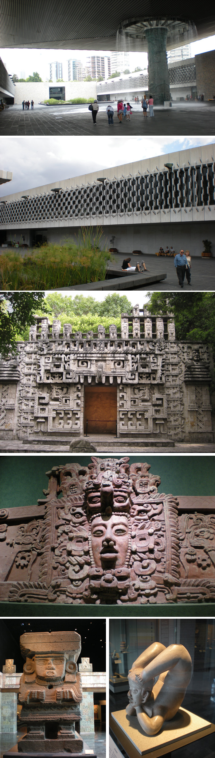 전시물이나 전시 체계나 방법 모두 훌륭한 멕시코시티의 국립 인류 박물관