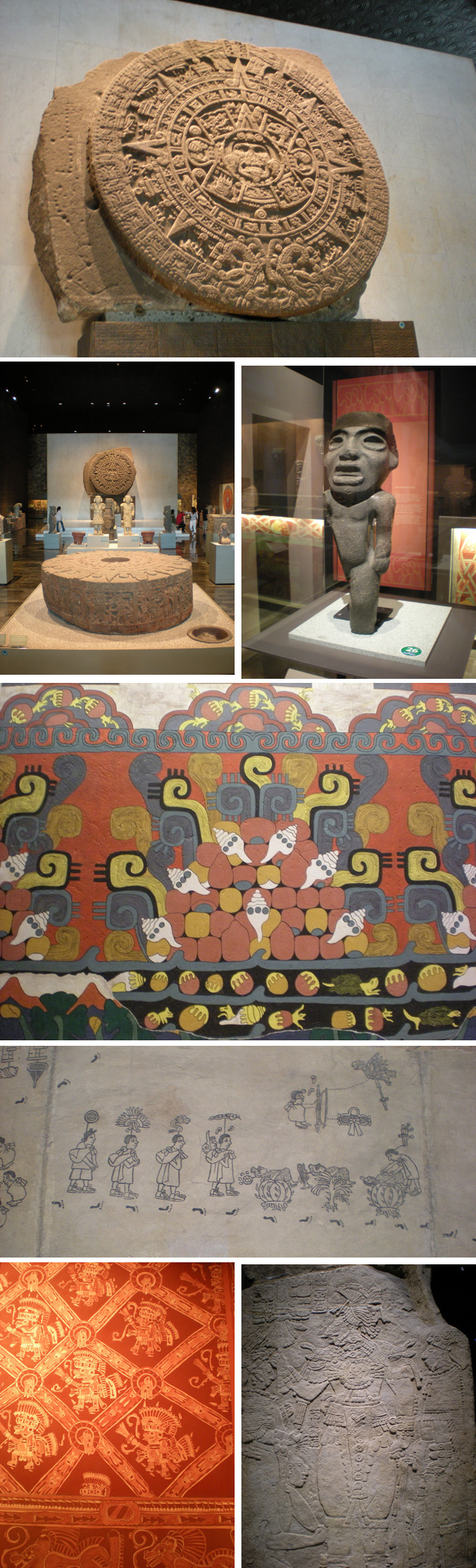 Both collections and museographies are great in National Museum of Anthropology, Mexico City
