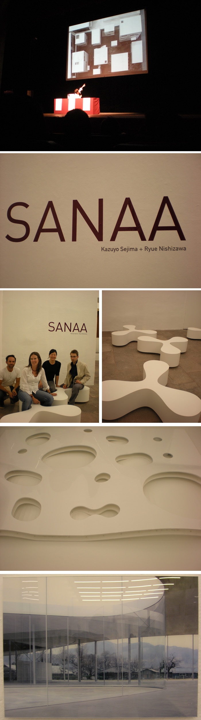 Exhibition of SANAA in Mexico City