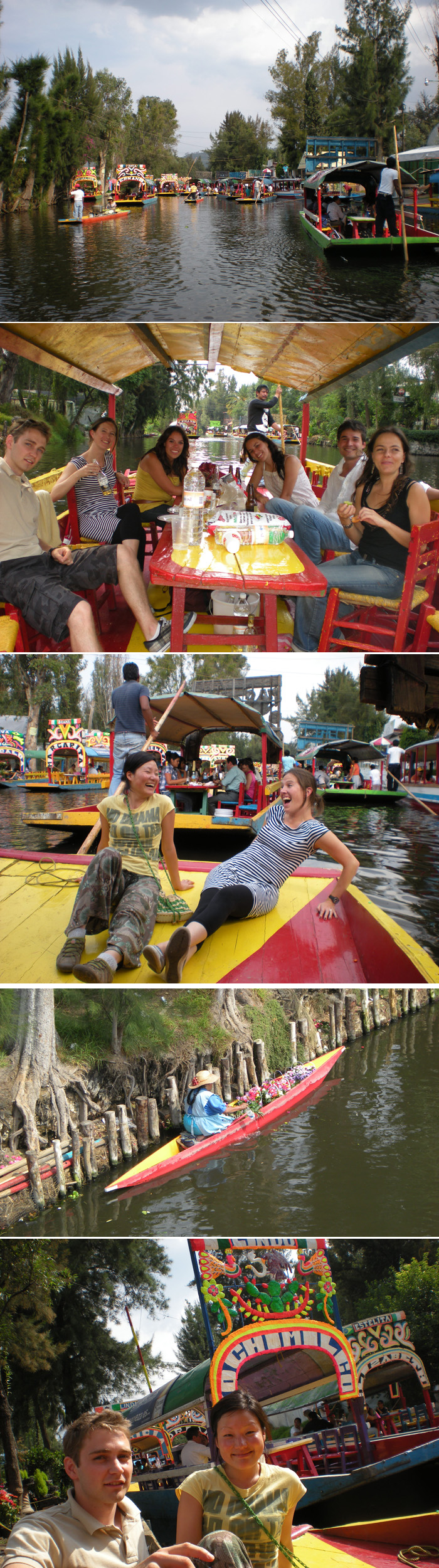 Happy saturday in Xochimilco to feel real Mexican folklore in Xochimilco