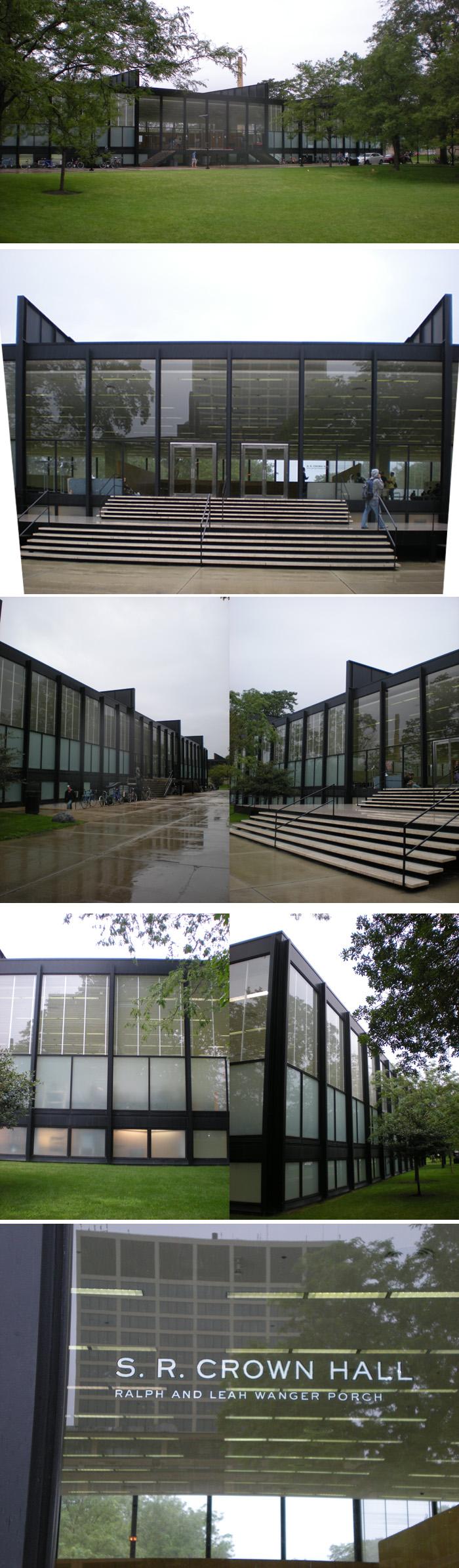 한국 학생들이 정말 많은 일리노이 공과대학 건축학부 건물 크라운홀