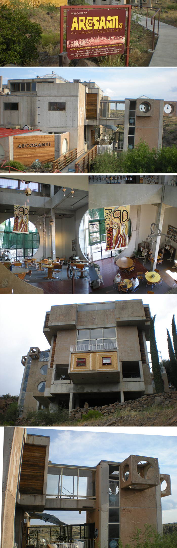 Visitor Center, Arcosanti