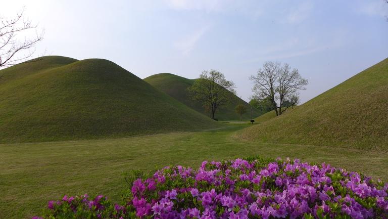 Royal tombs park (대릉원)